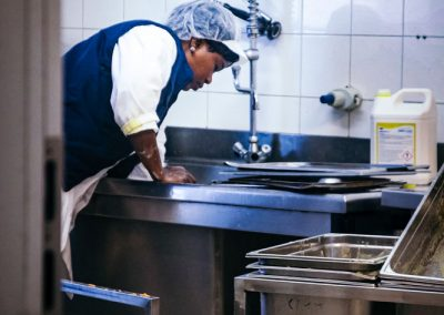 Cuisine Centrale de Bruz, photo-reportage